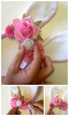 tutorial - Easter bunny ears / easter hat parade idea