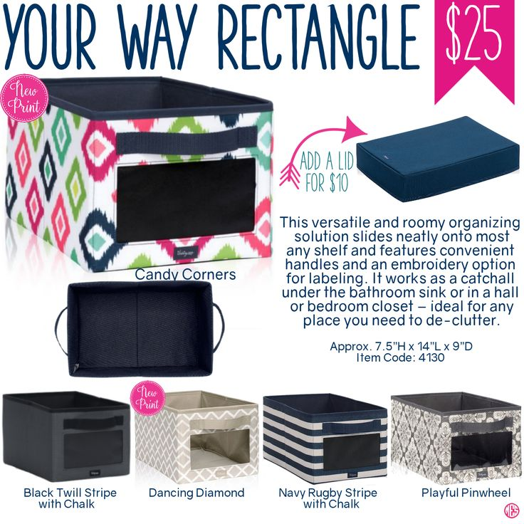 Thirty-One Your Way Rectangle - Spring/Summer 2017