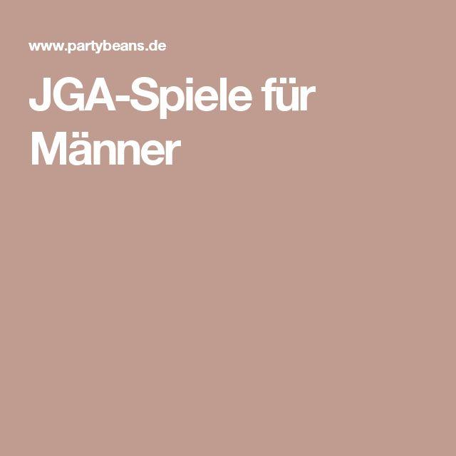 JGA-Spiele für Männer
