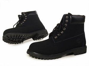 Timberland Women Boots All Black