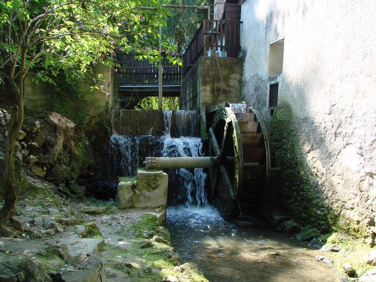 Jásd- vizimalom. Hungary  (István Ferenczi) A mill.
