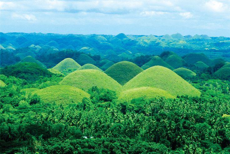 Шоколадные холмы, Бохоль, Филиппины
