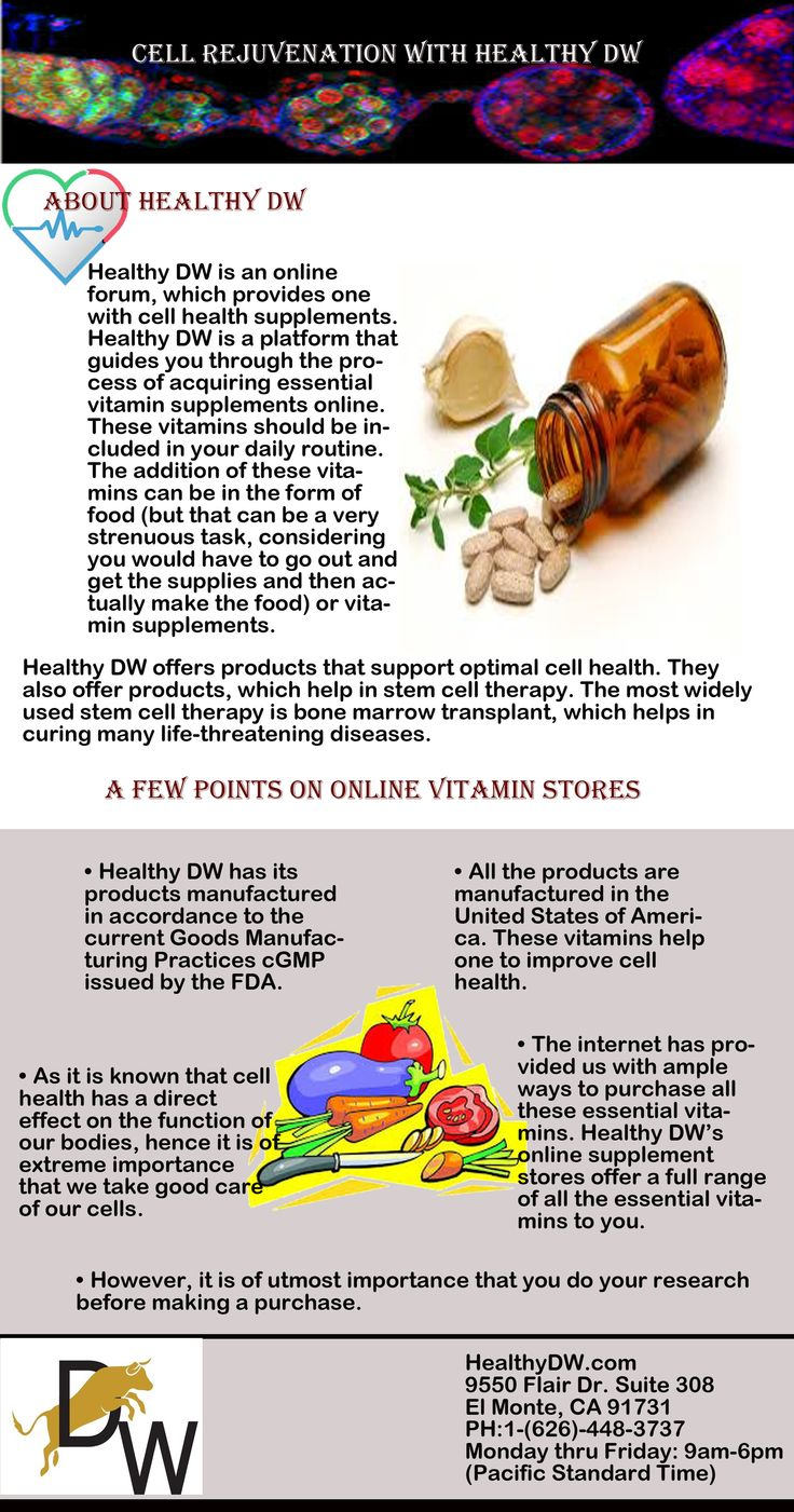 Healthy dw has its products manufactured in accordance to the current goods manufacturing practices cgmp issued