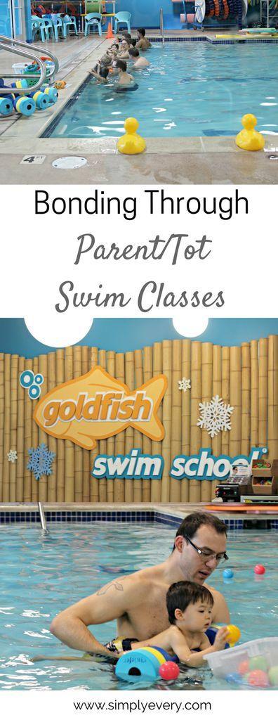 Bonding through Parent & Tot Classes - Simply Every  kids activities, swim classes, water safety, swim lessons, parent tot classes, bonding, activities, swimming
