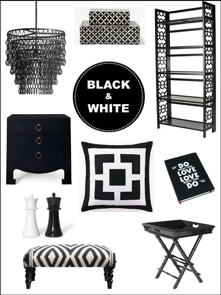Interior Design Boards Black White Home Decor Inspiration E