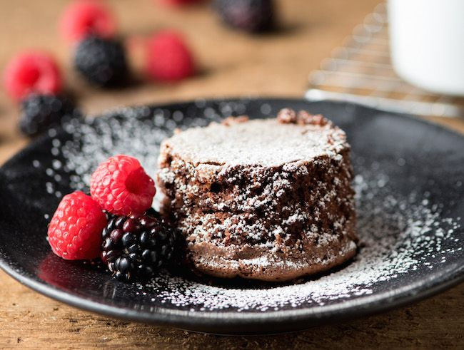 If you struggle with deflated, flat cakes, then this recipe is for you! This single-serve sunken chocolate cake recipe comes out perfect every time.