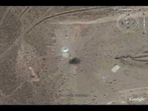 UFO  AREA 51    GOOGLE EARTH