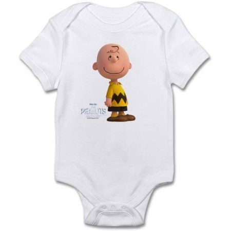 CafePress Charlie Brown - The Peanuts Movie Infant Bodysuit, White