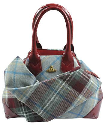 Vivienne Westwood Winter Tartan MacPherson Bag