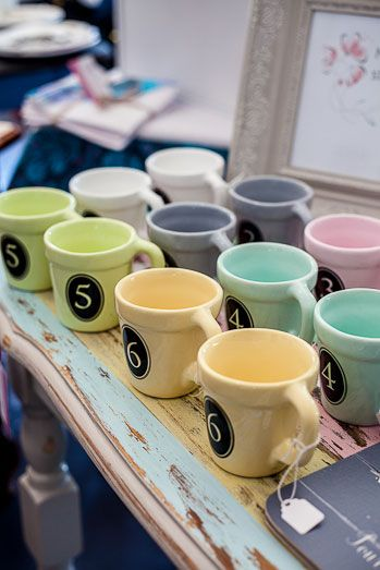 Adorable cups, perfect for those tea parties