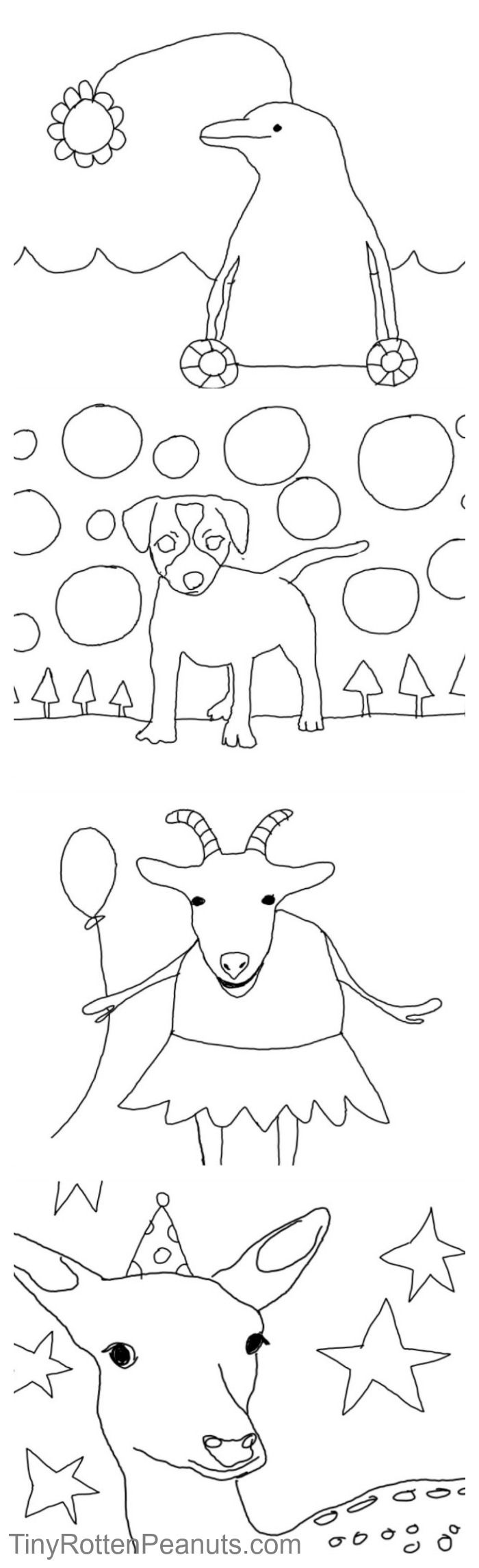 Free cool coloring pages from TinyRottenPeanuts.com using the HP Sprout #CIY #sproutbyhp