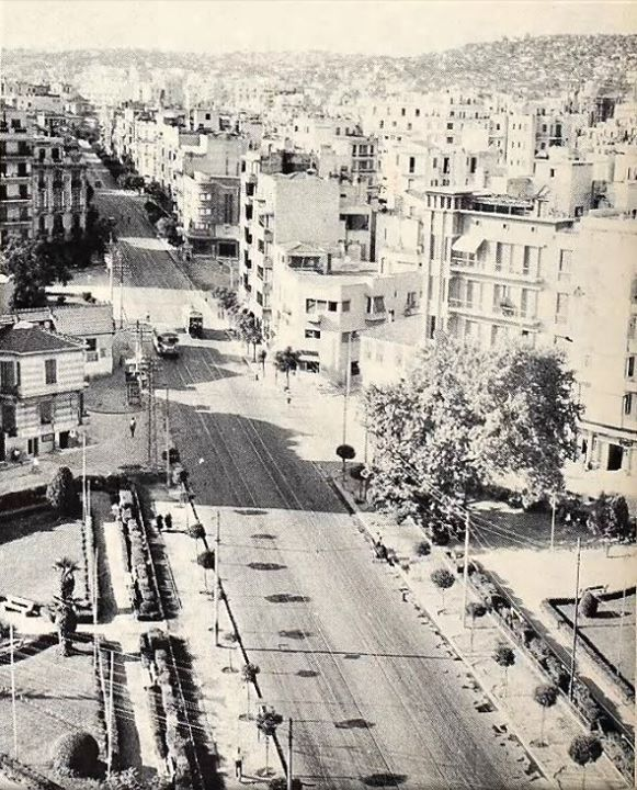 1953: an old photo of Thessaloniki. www.thesstips.wordpress.com
