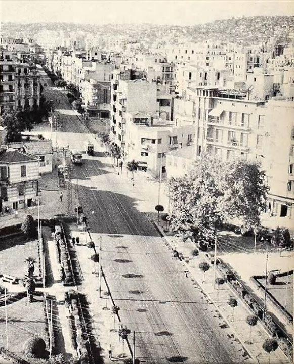 1953: an old photo of Thessaloniki. www.thesstips.wordpress.com