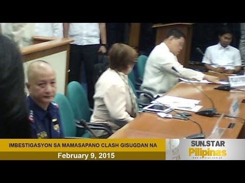 SAF survivor to lead 26 guests in Senate inquiry on Mamasapano clash | Sun.Star
