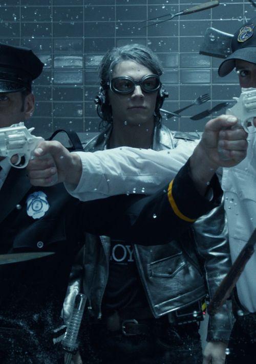 Evan Peters as Quicksilver in X-Men: Days of Future Past (2014)