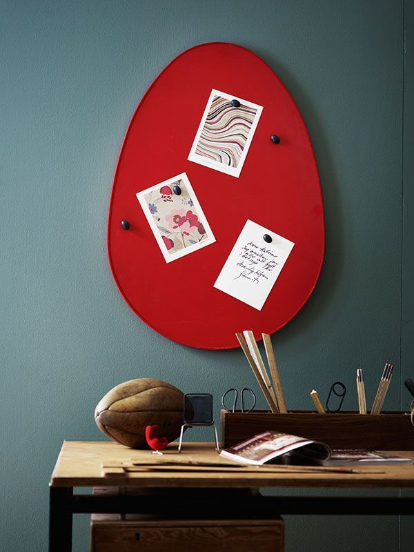 Forms of Life magnetic board red