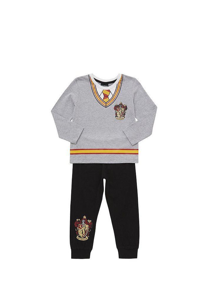 68c856bcd Tesco direct  Warner Bros. Harry Potter Gryffindor Pyjamas with ...