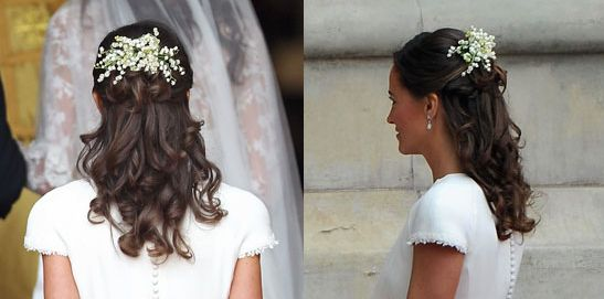 Pippa Middleton wedding hairstyle - Rangoli Jewellery and ...