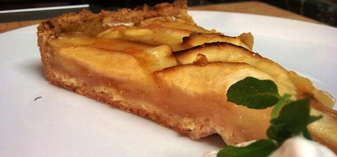 Francouzská jablečný koláč http://www.ksdvorakova.cz/jablecny-francouzsky-kolac/