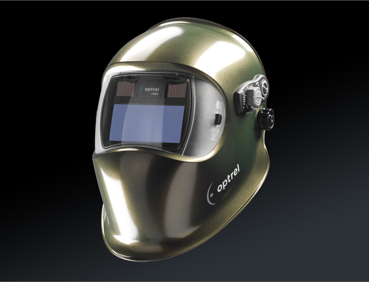 The optrel e680 helmet was designed especially for welding experts with varying job requirements and a need for an extensive range of individual adjustment options. It is the only helmet to allow the wearer to select between DIN 5 to DIN 13 shade levels.