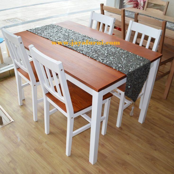 meja makan minimalis new pendek kursi empat ini merupakan produk terbaru dari jaya furni mebel jepara, 1 set bisa 4 kursi dan 6 kursi terbantung pemesanan.
