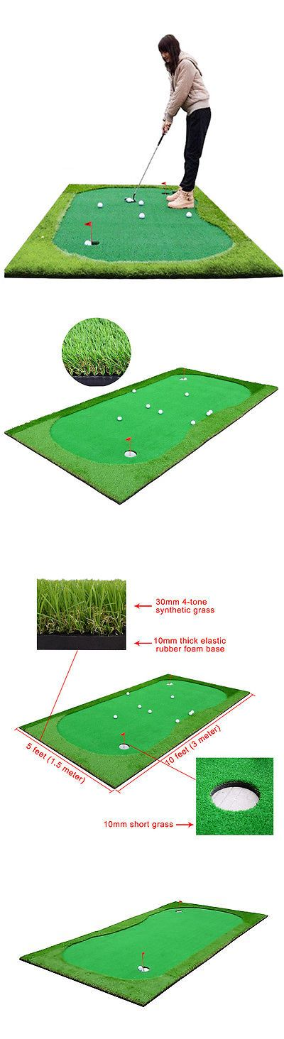 Putting Greens and Aids 36234: Professional Practice Golf Putting Green System Indoor Outdoor Training Mats -> BUY IT NOW ONLY: $229.99 on eBay!