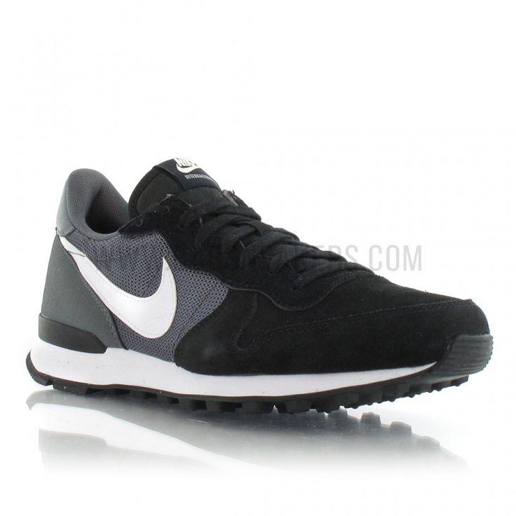 Nike Internationalist femme noir 629684-012 Demi Profil