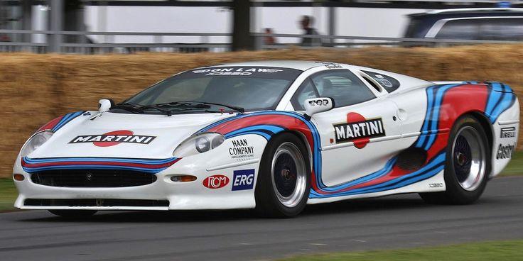 Jaguar XJ220 Martini