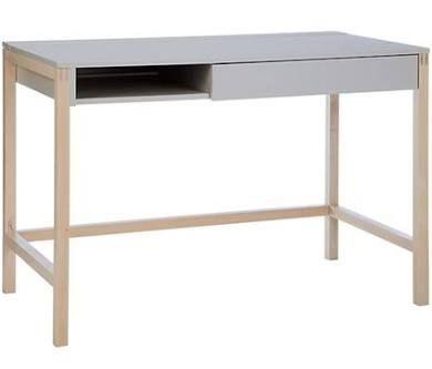 Northgate MEL small skrivbord – Grå/björk Woodman