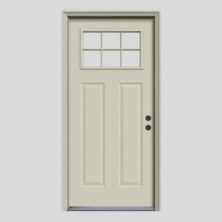 Jeld Wen Premium Steel Doors Offer That Relied Upon Strength Durabil Front Door Entrance Door Decor Replacing Front Door