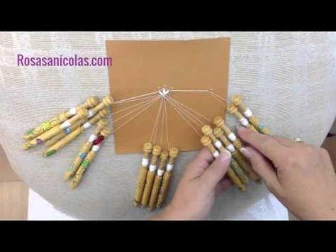 El cruce de estrella se puede hacer de distintas formas. Esta que os voy a enseñar es de las más sencillas y se puede aplicar a un mínimo de 12 bolillos y a ...
