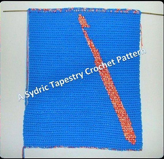 Crochet Hook Tapestry Crochet Wall Hanging Pattern by TiStephani, $1.00