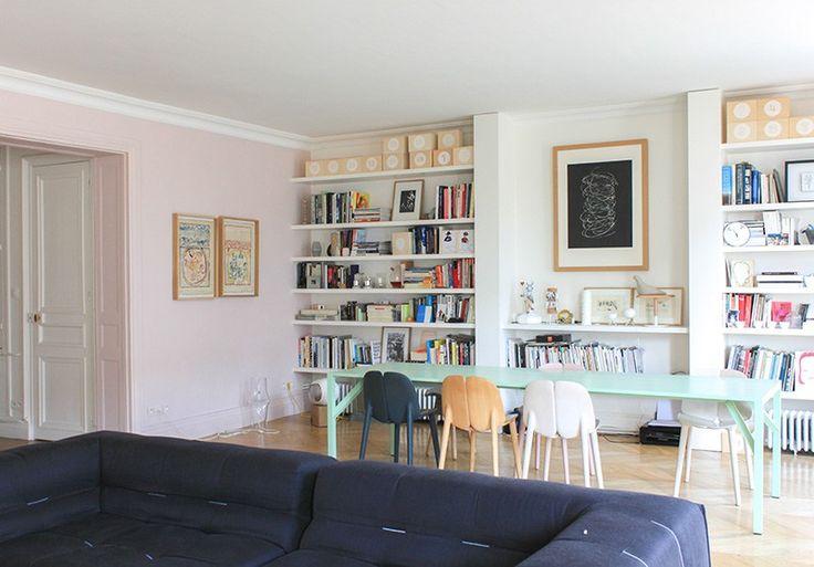 Les 187 meilleures images propos de autour de la table for Interieur appartement parisien