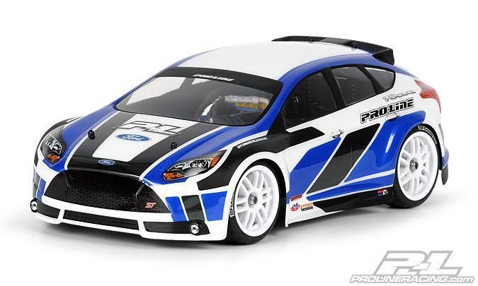 Pro-Line 1/16 Rally 2012 Ford Focus ST karosszéria