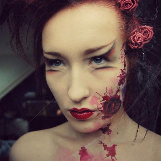 18 best unique makeup images on Pinterest | Make up, Costumes and ...