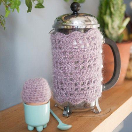 Free Pattern Crochet Coffee Pot Cosy Jasper Hook Some Yarn Organize Pinterest Patterns And Knitting