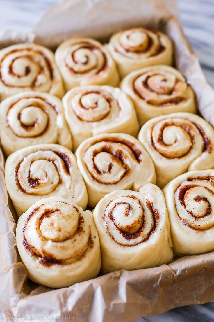 Overnight cinnamon rolls recipe on sallysbakingaddiction.com