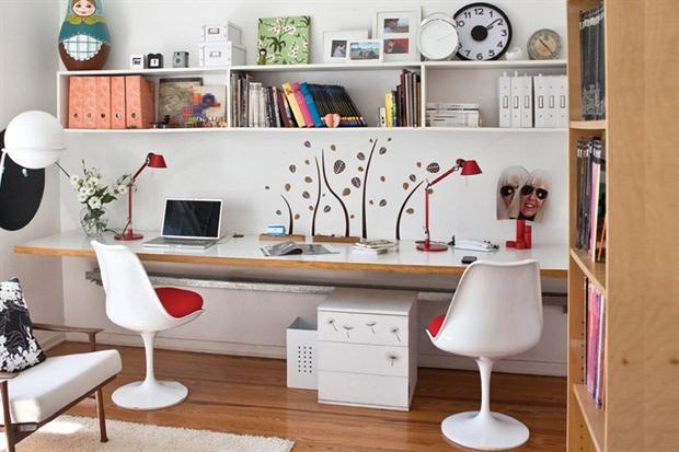 Tres estilos femeninos para un espacio de trabajo  Foto:Archivo LIVING