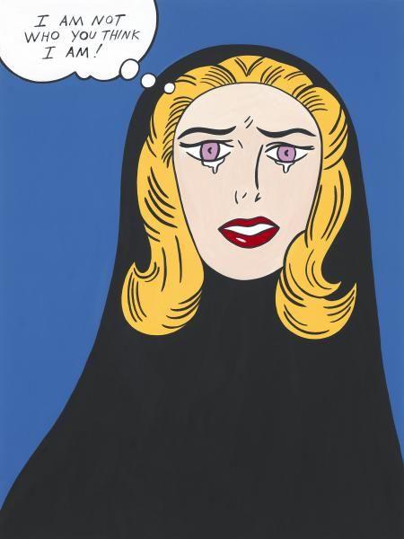 I Am Not Who You Think I Am, by Helen Zughaib, Lebanon/ USA | IMOW Muslima