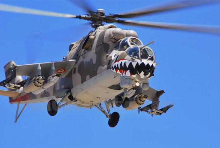 Soviet-Made Helicopter Gunship