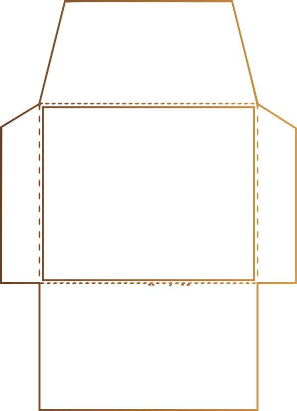 Resultado de imagen para molde de sobres para imprimir