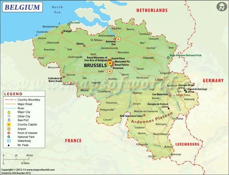 Best Belgium Map Ideas On Pinterest Belgium Country - Belgium country map