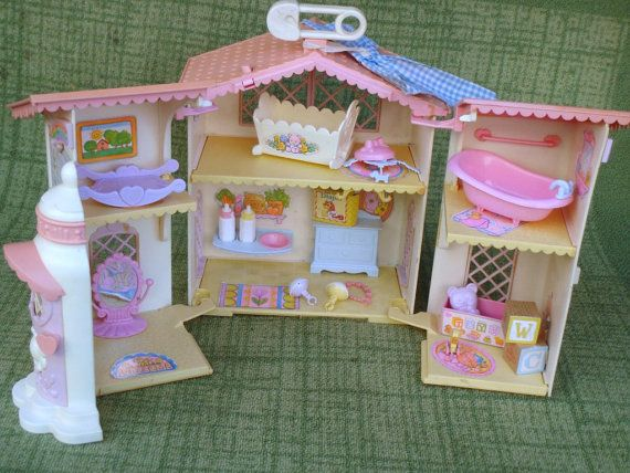My Little Pony Lullaby Nursery Plasyset With by PoniesOfDooom, $80.00