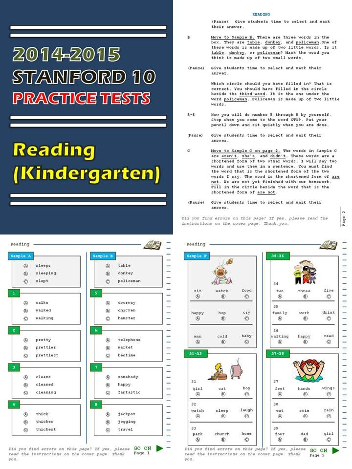 Your search for Stanford 10 practice tests is over. I have them at my store. I have downloadable practice tests for math, reading, language, and environment for kindergarten through 2nd grade. Click the following link to download the preview and purchase the items. Grab a copy of the tests for your class while they are on SALE! http://sirarthurdeesonlineteachingresources.com/