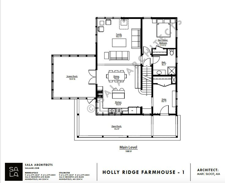 unique farmhouse for mid-size family w/ porch (plans available