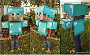 Billedresultat for homemade costume ideas for boys minecraft