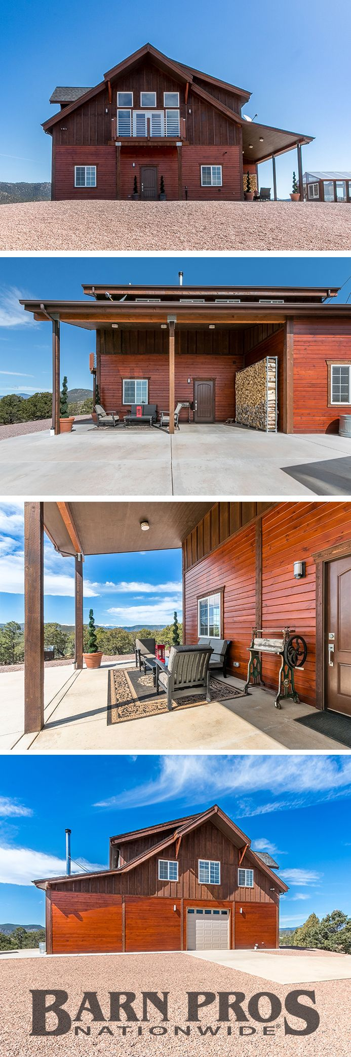Off-grid barn apartment in Canon City, Colorado - beautiful contemporary home with both modern and rustic touches.