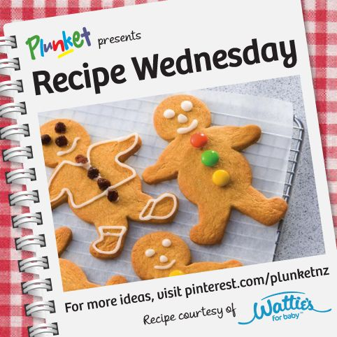Looking for an edible Christmas gift? This classic Gingerbread Men from Watties would make a delicious treat http://www.forbaby.co.nz/Stage-4/Recipes-for-You/Gingerbread-Men #recipewednesday