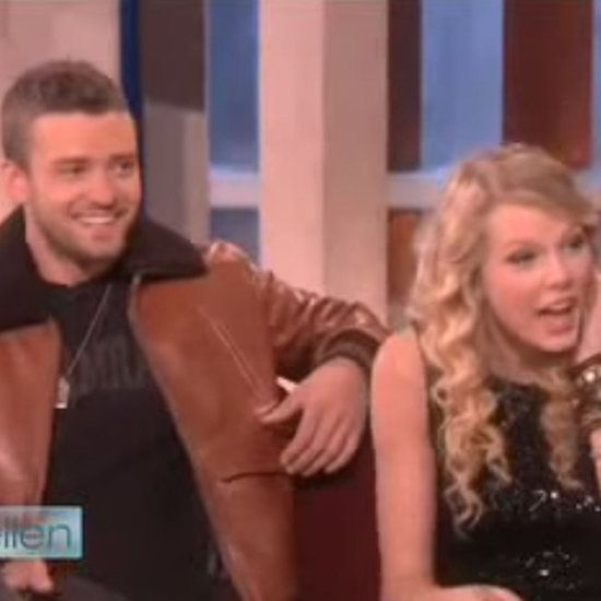 Throwback to When Ellen Surprised Taylor Swift With Her Crush, Justin Timberlake: Sure, Taylor Swift and Justin Timberlake may be friends who hit the stage together now, but back in 2008, he was the musical crush she was dying to meet.