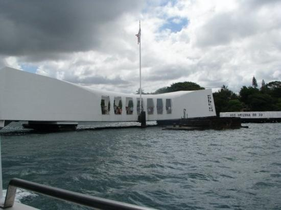 Pearl Harbor Tour . Sad , but an interesting part of history .